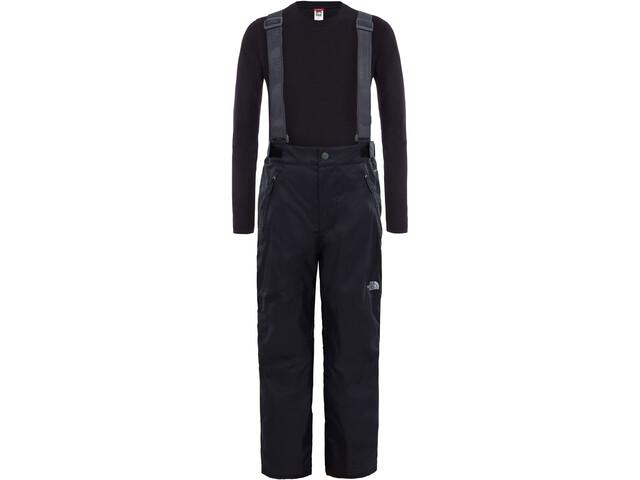 The North Face Snowquest Suspender Plus Pantalon de ski Enfant, tnf black